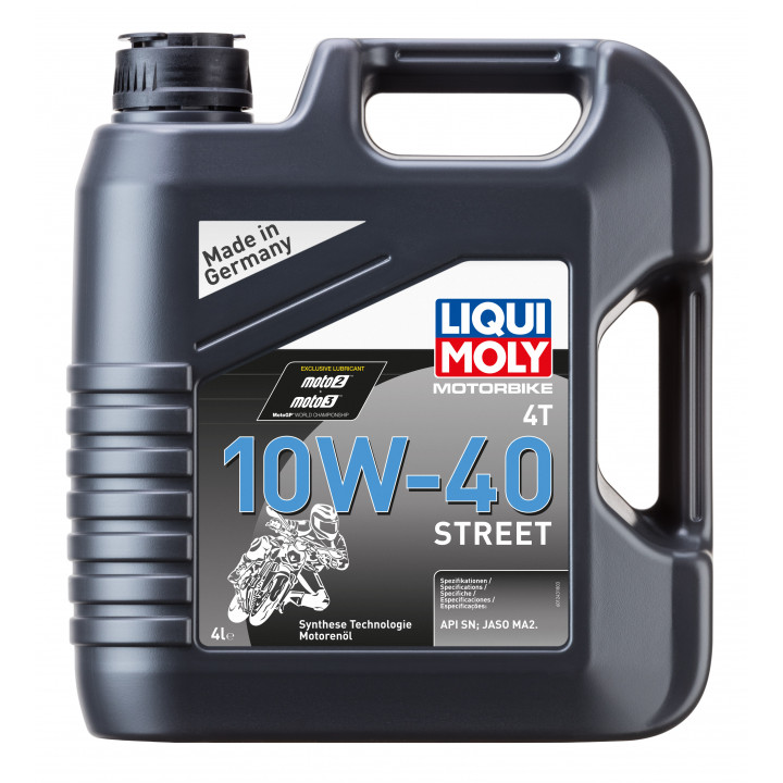 LIQUI MOLY Motorbike 4T 10W-40 Street НС  4л